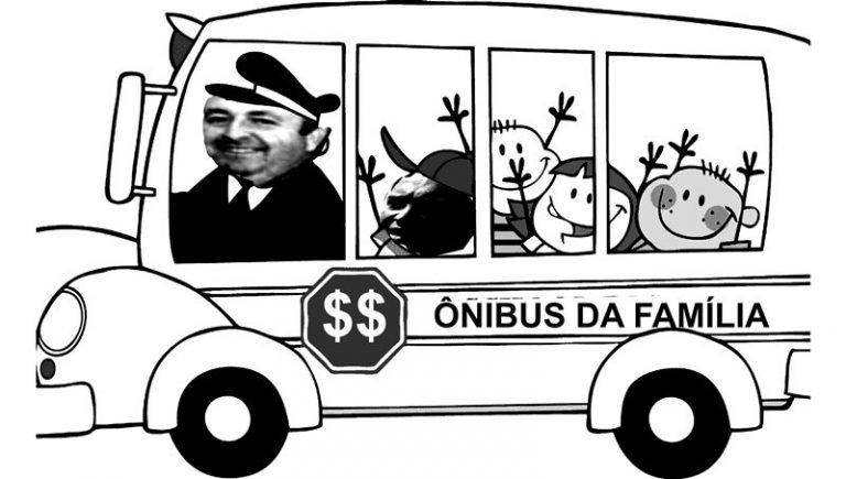 Episódio de hoje: O ônibus da família