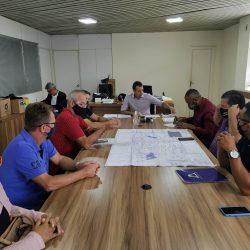 Vereador Luis Costa participa de reunião com o Prefeito de Poxoreú para discutir a Regularização Fundiária do assentamento Bela Vista