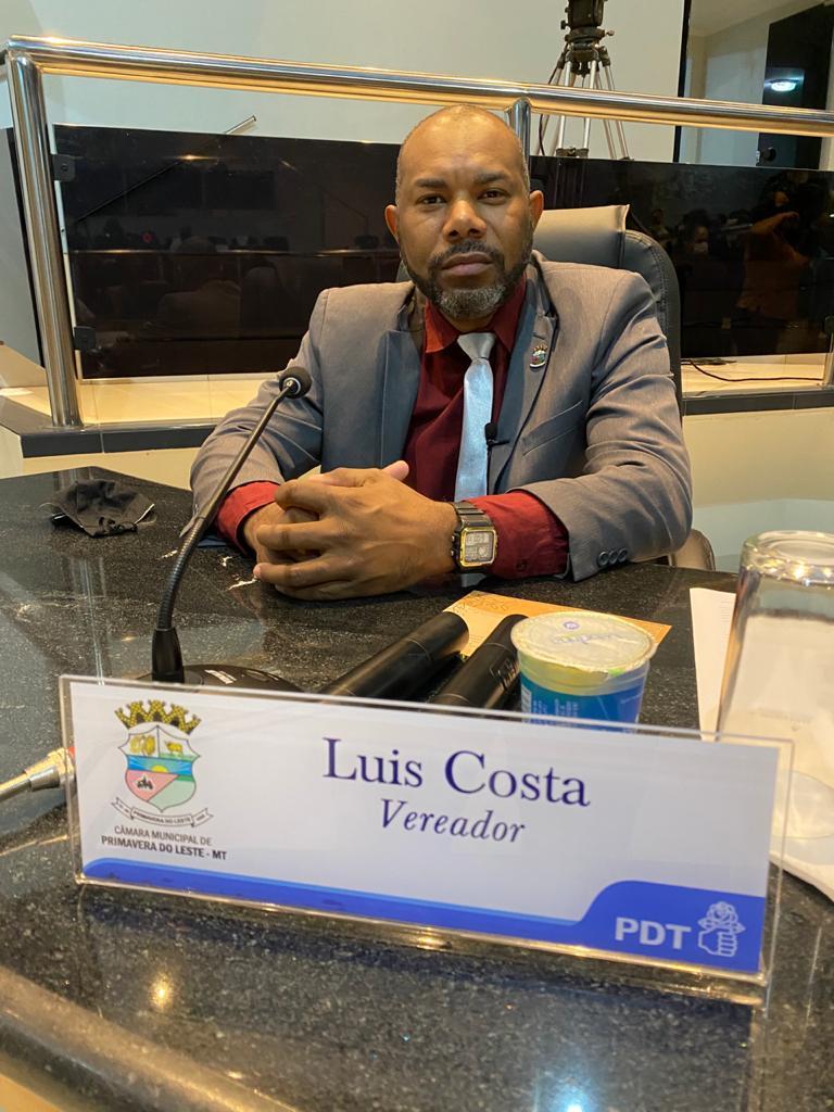 Vereador Luis Costa solicita rigidez do executivo em fiscalizar as aglomerações